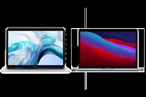 YourMacStore blog verschillen MacBook Air en MacBook Pro