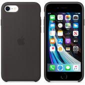 Siliconenhoesje voor iPhone 7/8/SE Zwart