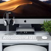 Satechi Aluminum iMac Monitor Stand Hub Zilver