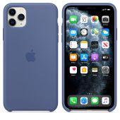 Apple siliconen hoesje iPhone 11 Pro Max - Linnenblauw
