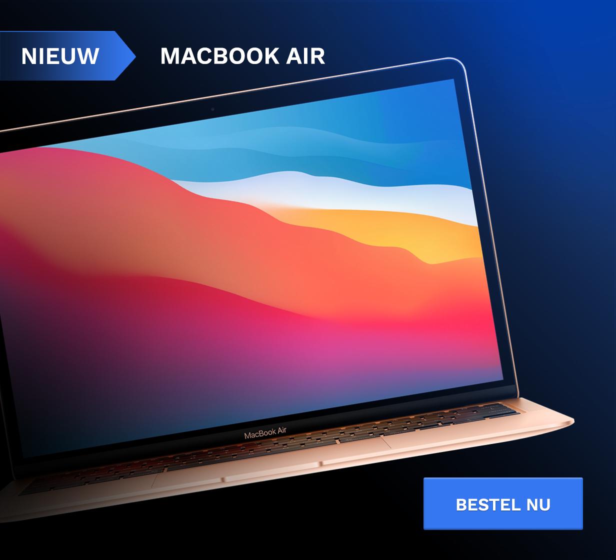 Nieuw: MacBook Air