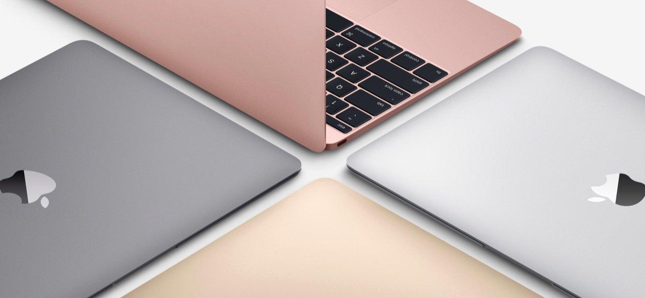 Nieuwe 12-inch MacBook - roségoud