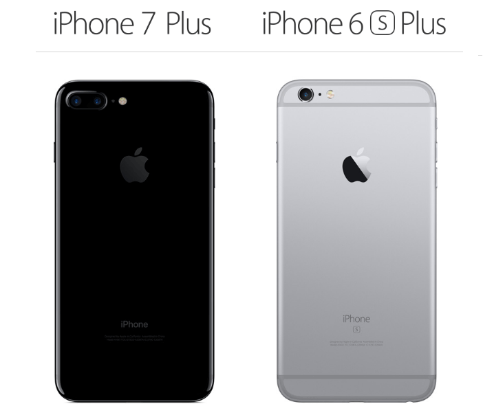 iphone 7 plus vs. iphone 6s plus