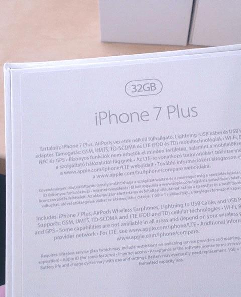 iPhone 7 doos | YourMacStore