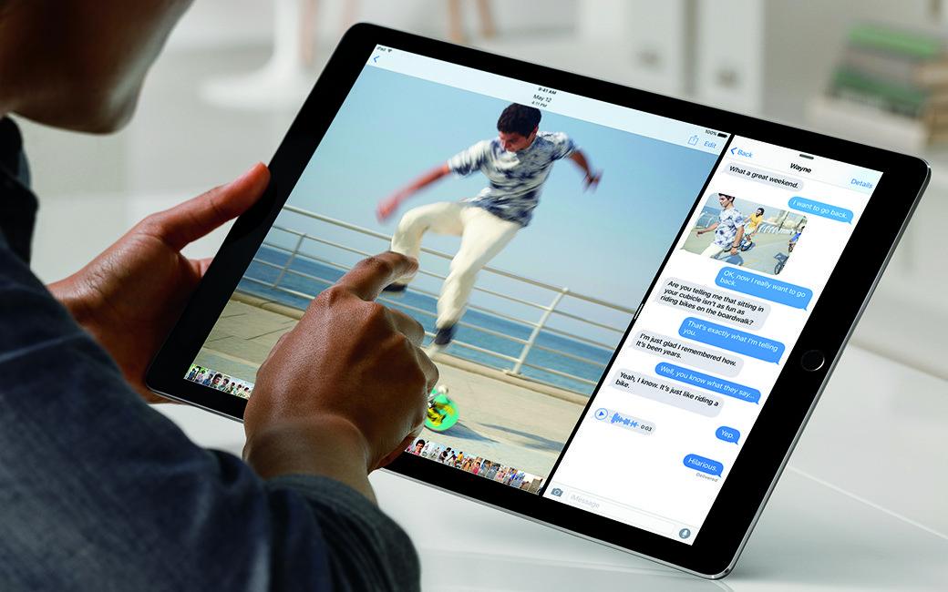 Multitasken met de iPad Pro