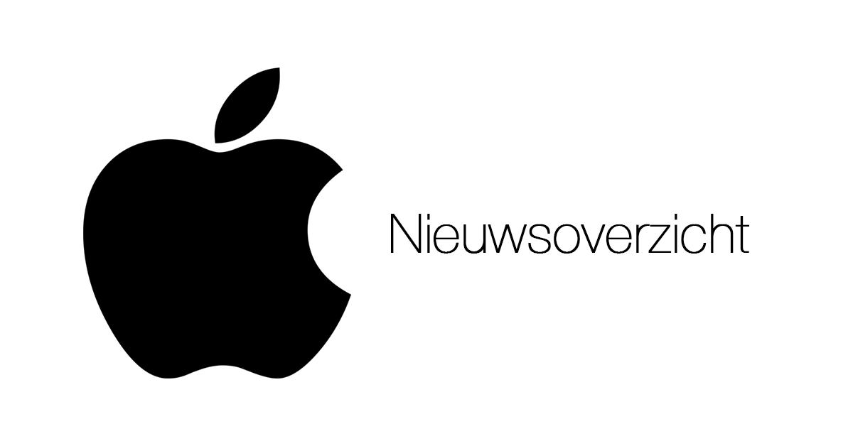 Nieuwsoverzicht Apple
