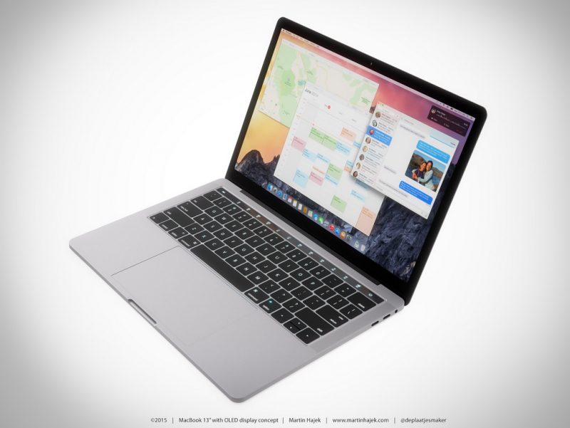Nieuwe MacBook Pro Oled