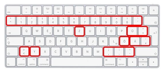 keyboard Duits Apple