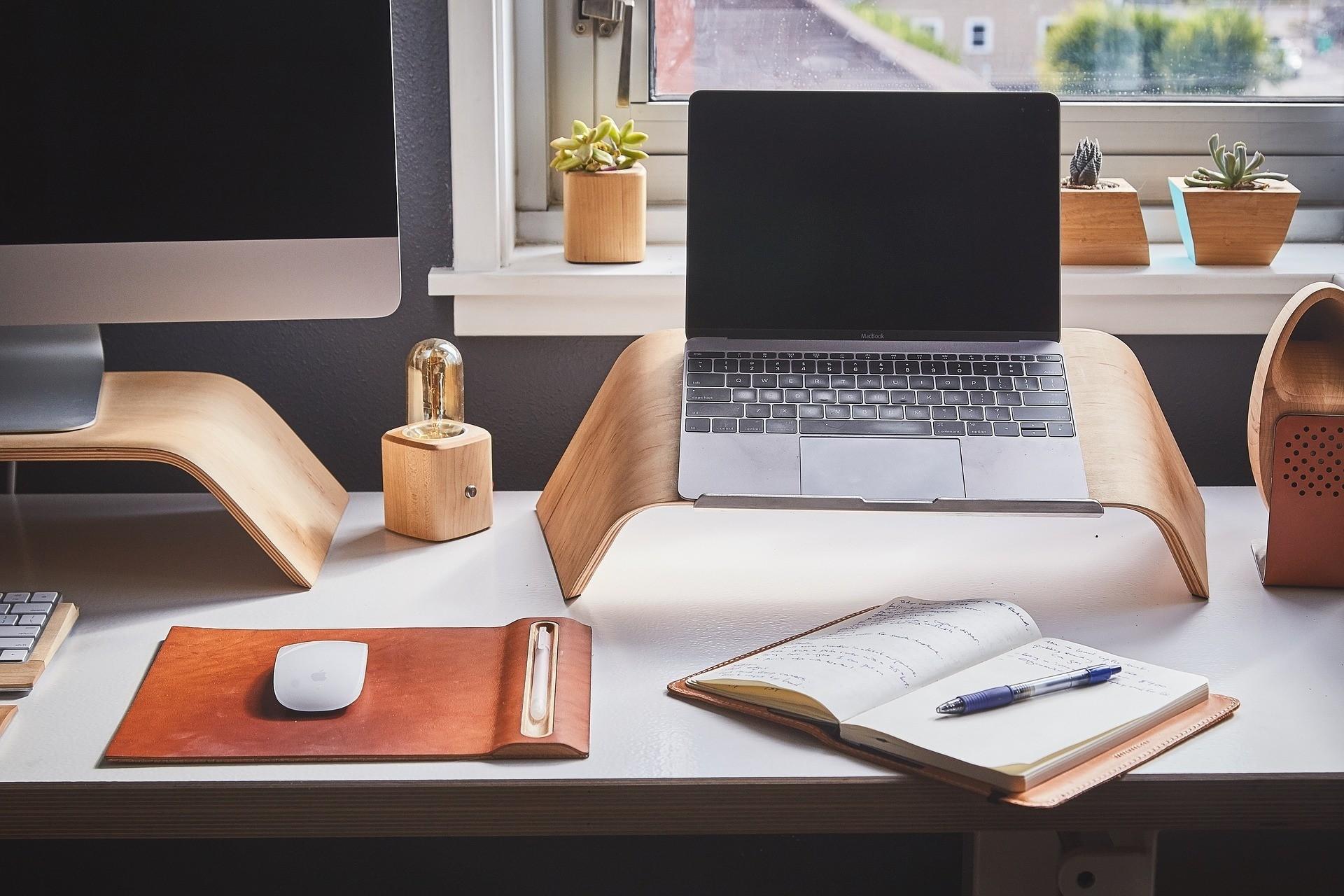 MacBook office
