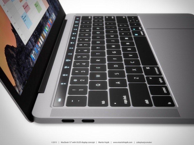 MacBook Pro OLED Balk
