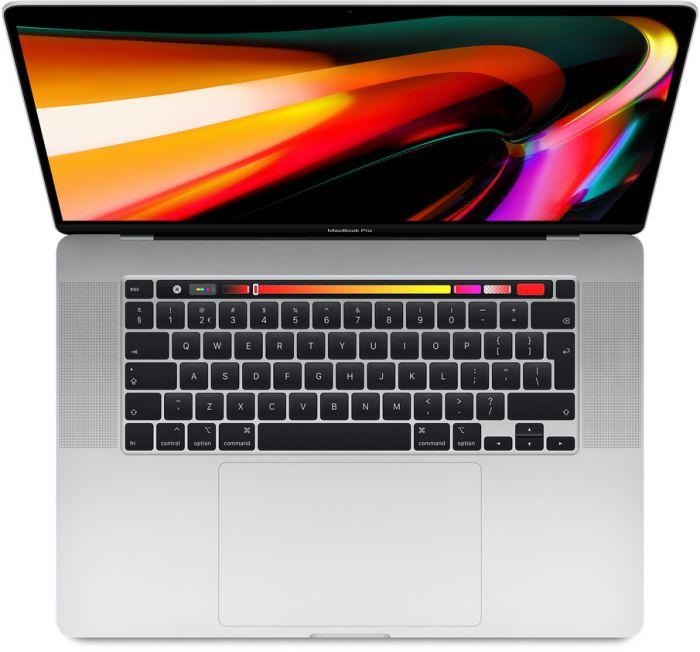 MacBook pro 16-inch Zilver