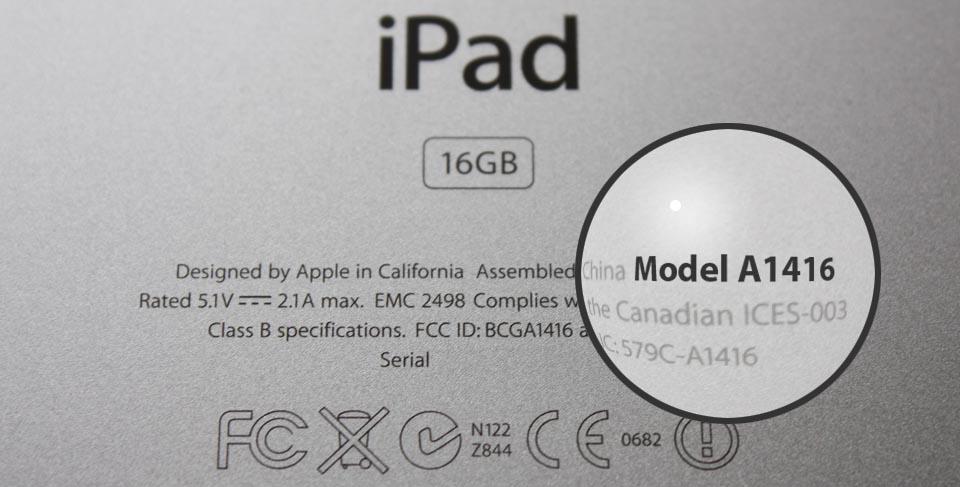 Welke iPad heb ik?